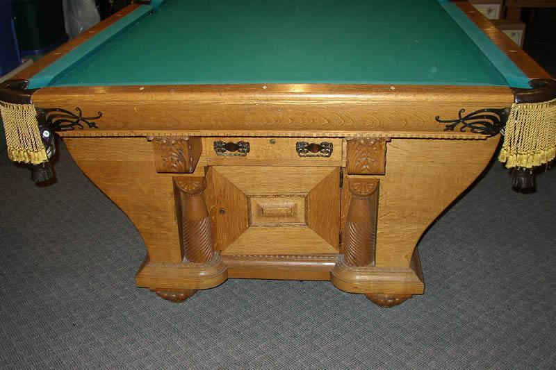The Cabinet - Pool table cabinet