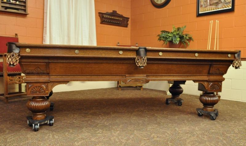 The Decker Circa - Regulation size pool table prices