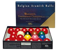 Snooker balls by Aramith