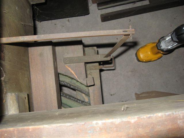 Antique Brass Door Handle