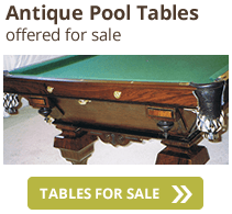 Classic Billiards Antique Pool Tables Antique Pool Table Parts - Jacksonville pool table movers