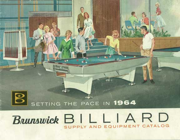 1964 Brunswick Catalog Classic Billiards