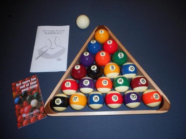 Complete Aramith Baseball Set