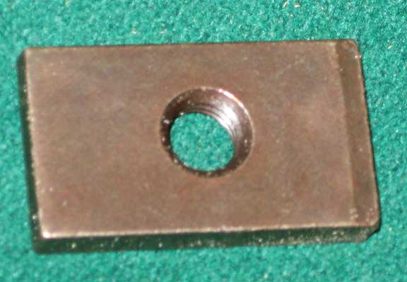 Under Rail Nut Plate For Rail Bolts