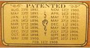 Patent Decal for models including The St. Bernard