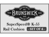 Brunswick SuperSpeed® (K-55 profile) - set of 6