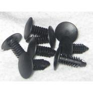 Pocket Buttons to attach pocket liners to corner castings (standard, fits 1/4 in. hole)