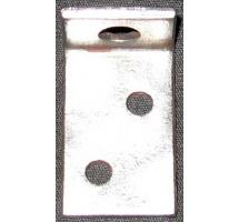 L Bracket for Anniversary/Centennial Tables (one hole threaded)