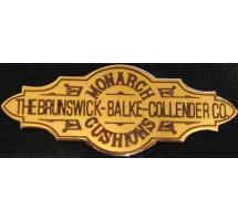 Engraved Brunswick™ Nameplate Used in Jewel and Other Tables