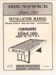 Remarkable Antique Billiard Pool Tables Service Manuals Download Free Architecture Designs Scobabritishbridgeorg