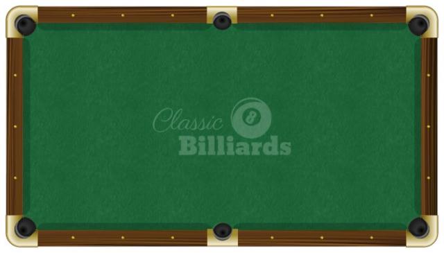 8/' Pro Oversized Camel ProLine Classic Billiard Pool Table Cloth Pro Line Felt