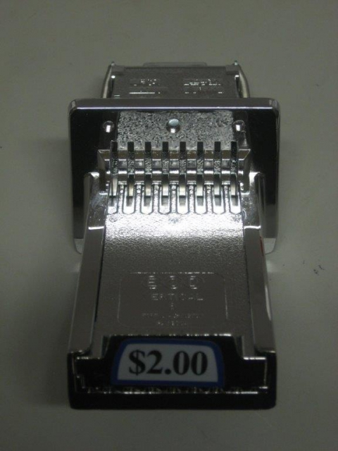 Vertical Coin Slot Mechanism For Most Coin Operated Pool